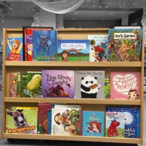 Kinder bookshelf